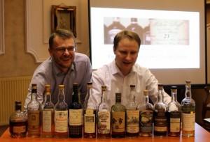 Ben Nevis 4 z lewej - zajął 4 miejsce na degustacji WhiskyLegend 2014