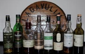 Zestaw na pierwszy w historii Whiskybreak -  w planie były 4 butelki :)