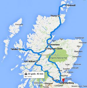 Trasa Whisky Tour 2014