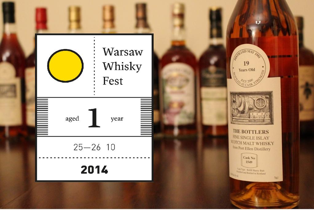 Port Ellen - nagroda w naszym konkursie związanym z Warsaw Whisky Fest