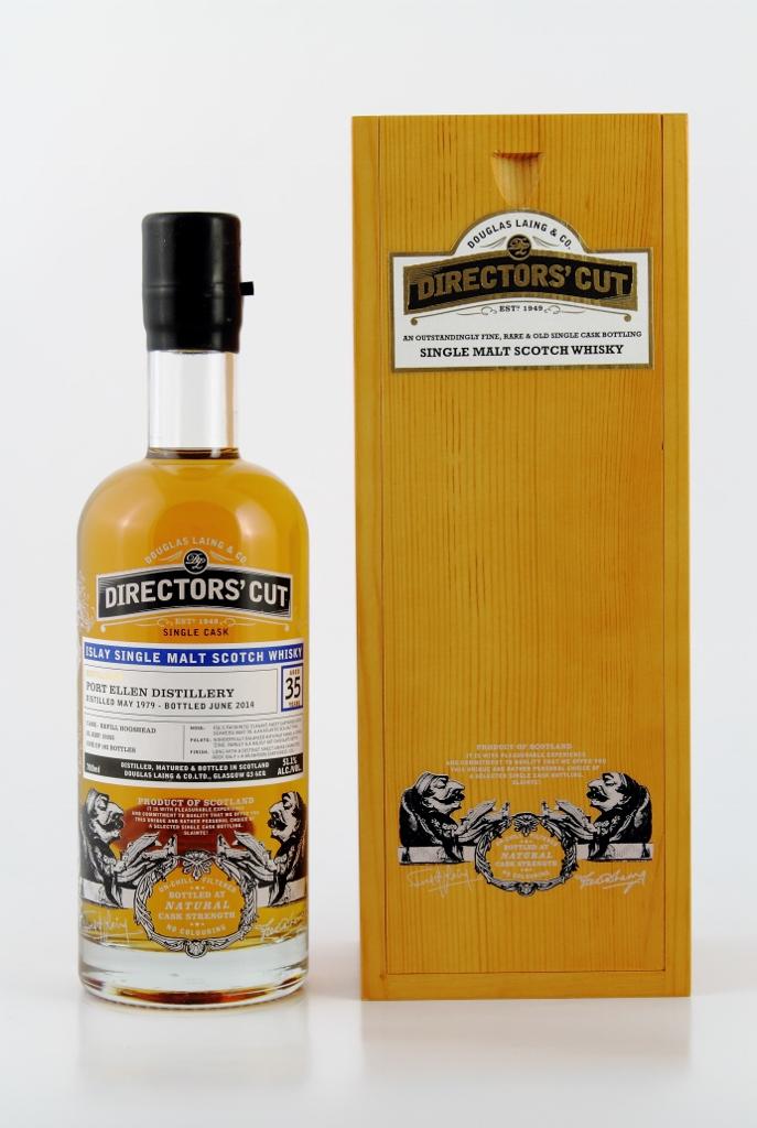 Whisky z destylarni Port Ellen, 35 lat, wydana przez Douglasa Lianga, z markowej serii Directors' Cut