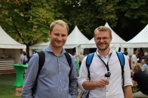 Redaktorzy portalu whiskymywife.pl Daniel i Grzegorz