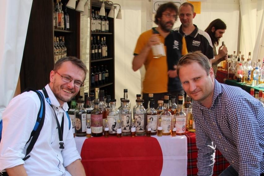 Whiskymywife i zestaw made in Japan, które spróbowaliśmy.