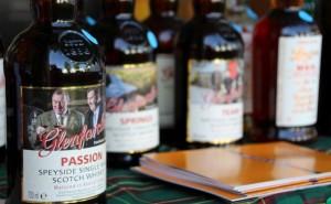 Glenfarclas passion. Wybrany przez Grantów. Aromaty 6/10. Smak 3/10. Niestety.