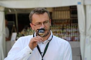 Poranna porcja aromatów. Grzegorz Whiskymywife na festiwalu.