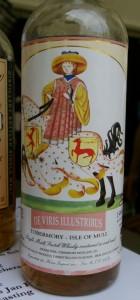 Tobermory z piękną etykietą.
