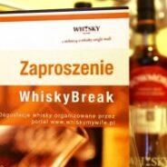 Zaproszenia do udziału w WhiskyBreak – prezent idealny