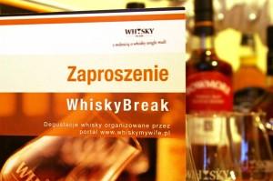 Zaproszenie na WhiskyBreak - idealny prezent