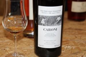 Przepyszny rum Caroni z Trynidad & Tobago. Już bardzo trudno dostępny. Ktoś wykupił ostatnią butelkę po festiwalu.
