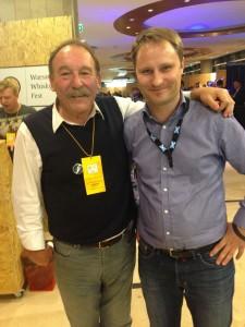 Charles Maclean i Daniel z whiskymywife.pl