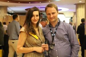 Pani Justyna, jedna z organizatorek festiwalu.