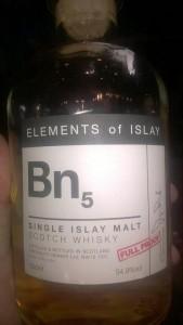 Bunnahabhain   54,9% Element's of Islay BN5