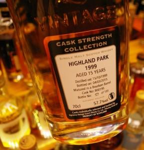 Highland Park 23 yo 55,7% Signatory