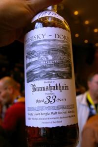 Bunnahabhain  33 yo  45,6% Whisky Doris - Limburg 2015