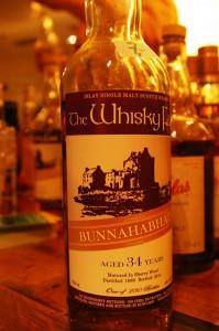 Bunnahabhain  34 yo  45,4% Whisky Fair - Limburg 2015