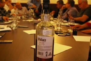 Zwycięski Benriach na tle degustacji - WhiskyTour 2015