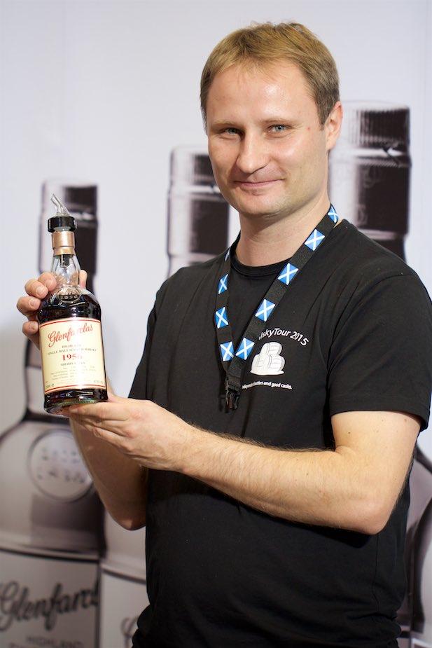 Daniel na WhiskyShow