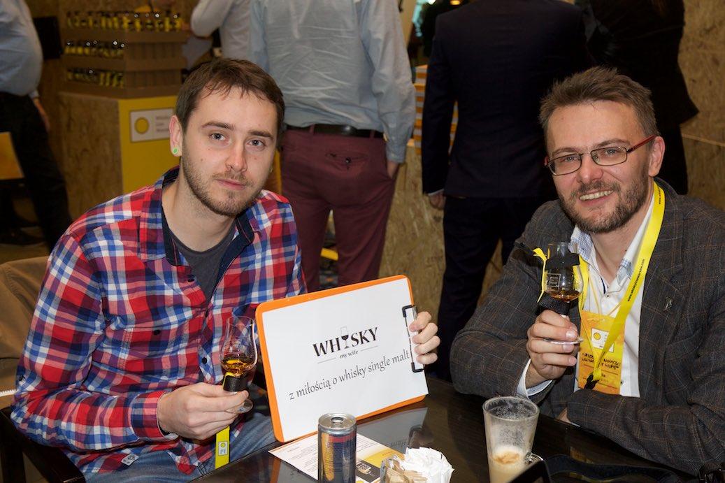Przemek, zwycięzca biletu na Whisky Live Warsaw w naszym konkursie.