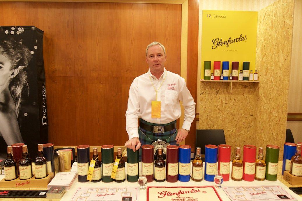Glenfarclas - jedno z najlepszych stoisk podczas Whisky Live Warsaw 2015.