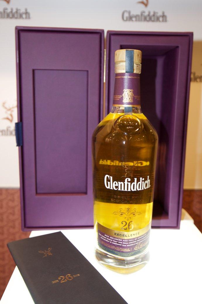 Glenfiddich 26 excellence. Jedna z trzech pozycji nominowanych na whisky Gwiazdę festiwalu.