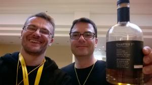 Grzegorz Nowicki i Salim Evin na selfie :)
