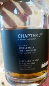 Irish Whisky 2007 - Chapter 7