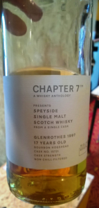 Glenrothes 1997 - Chapter 7