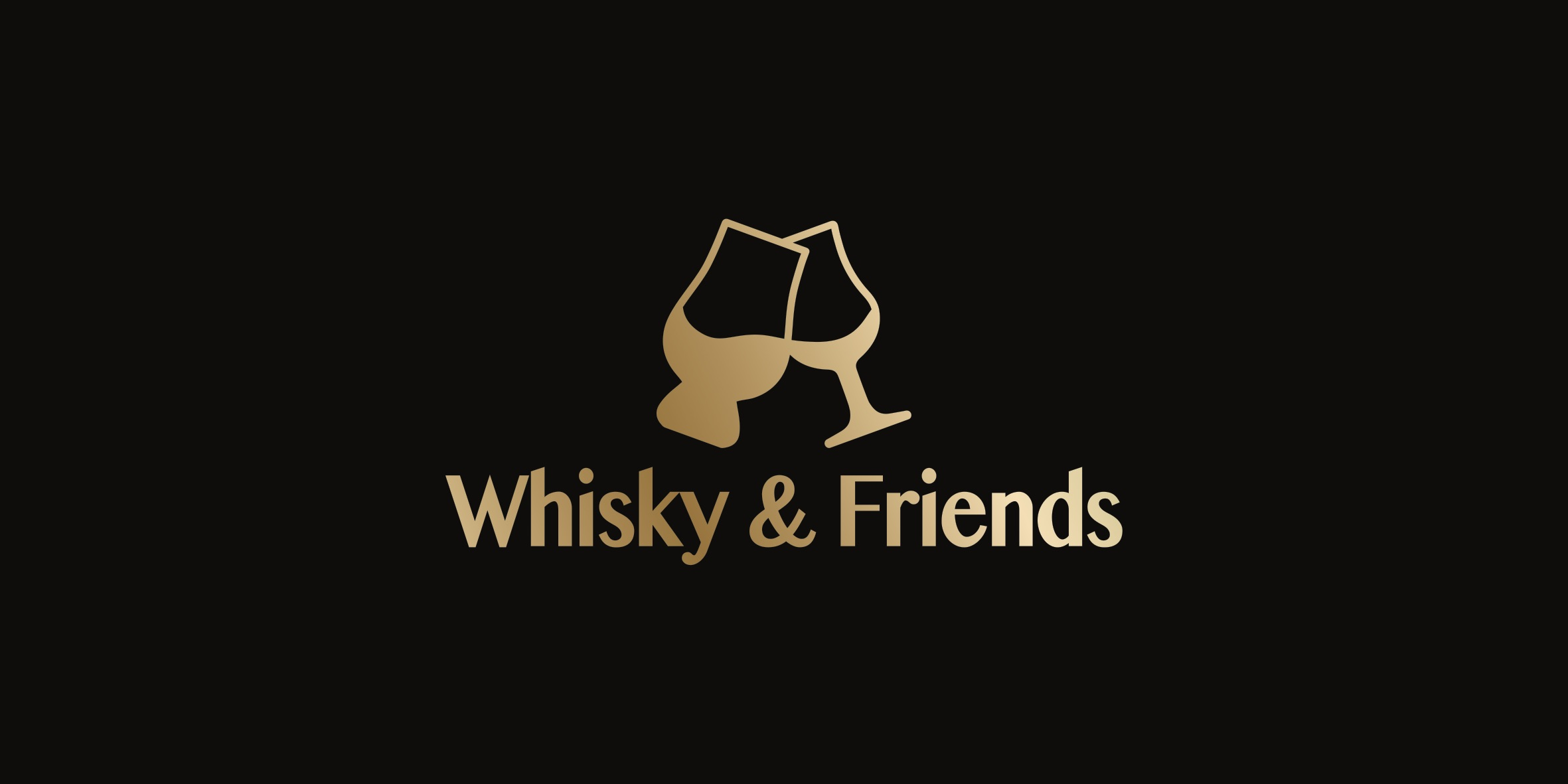 whisky and firends