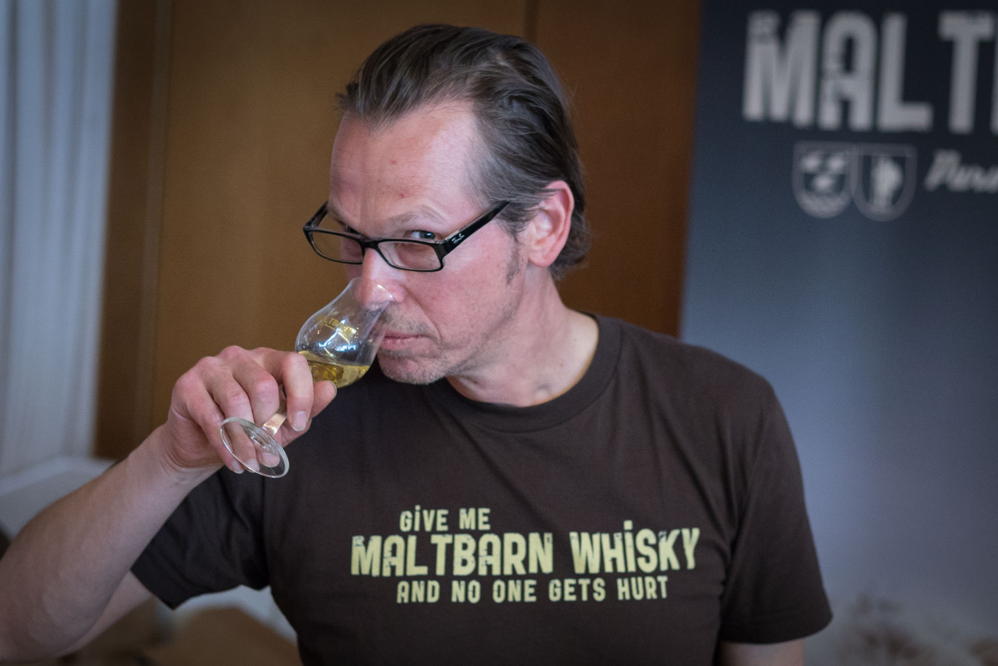 Martin. Give me Maltbarn whisky and no one gets hurt.
