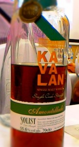 Kavalan Solist Amontillado 55,6% /Zdj. R.Janowski