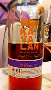 Kavalan Solist Moscatel 56,3% / zdj. R.Janowski