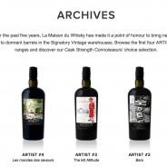 Artist #5 – seria whisky od LMDW – artykuł zamiast masterclass.