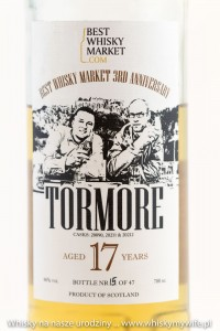 Tormore 17 yo dla BestWhiskyMarket