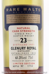 Glenury Royal 23to 61,3%