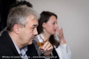 Mirosław Pawlina trakcie degustacji Whiskybreak