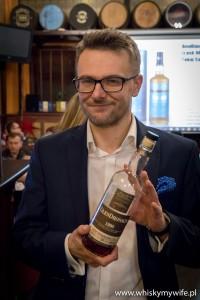 Grzegorz Nowicki na degustacji