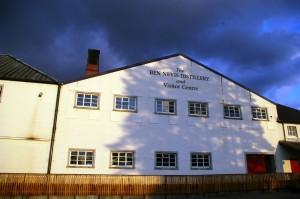 Ben Nevis - centrum dla zwiedzających
