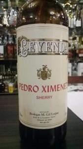 Sherry Pedro Ximenez