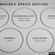 Whisky Masterclass – Speed Dating