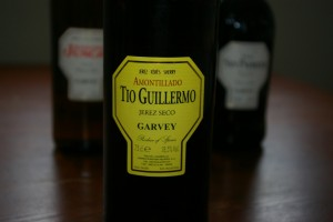 Sherry Amontillado – TIo Guillermo/  Garvey