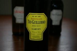 Sherry Amontillado – TIo Guillermo/  Garvey