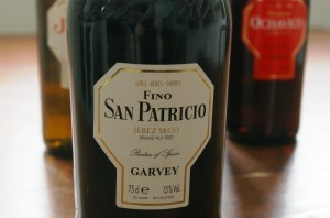 Sherry FINO – San Patricio/Garvey