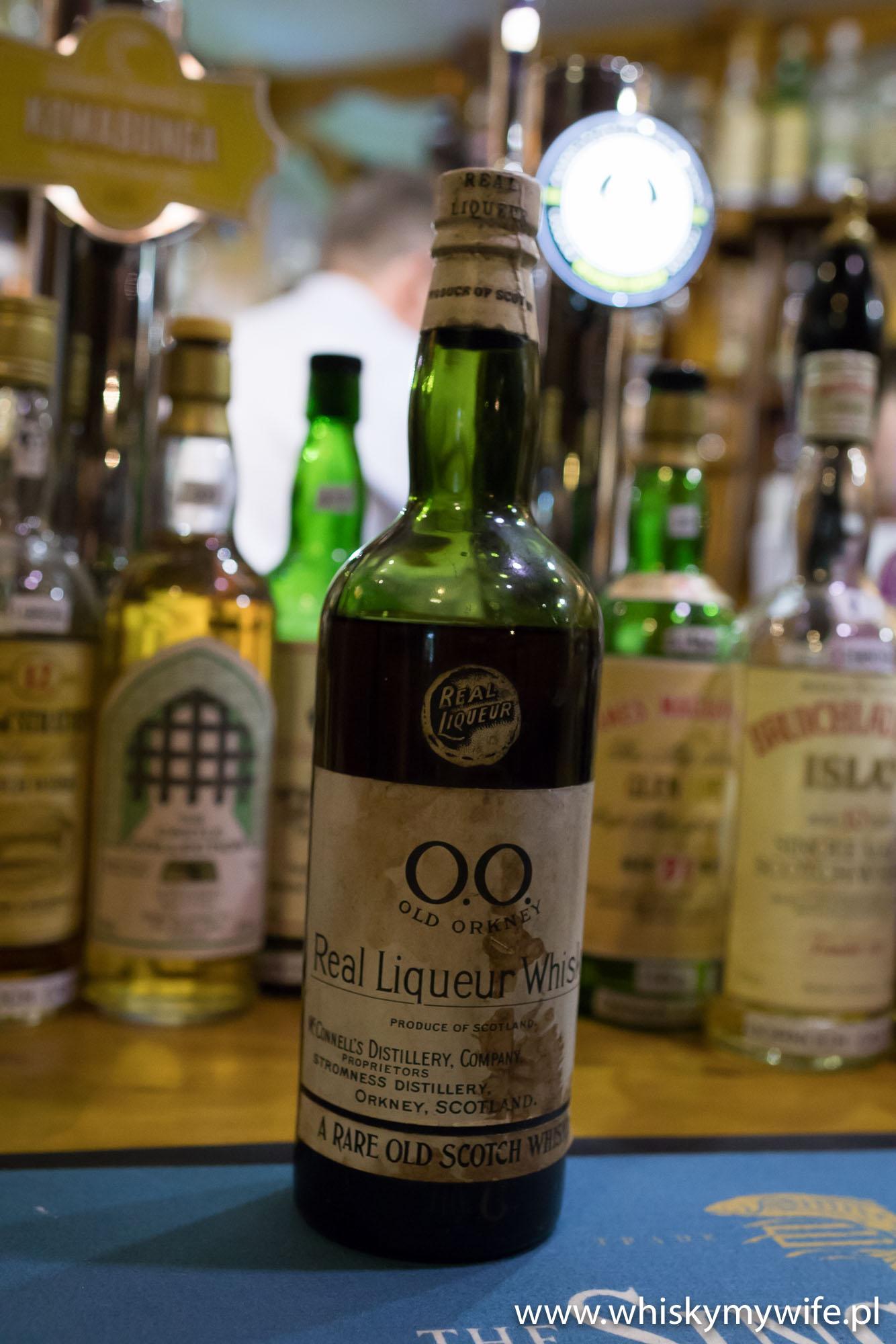 Przedwojenny Old Orkaney. Butelka będzie dostępna na festiwalu Whisky Old & Rare w Glasgow.