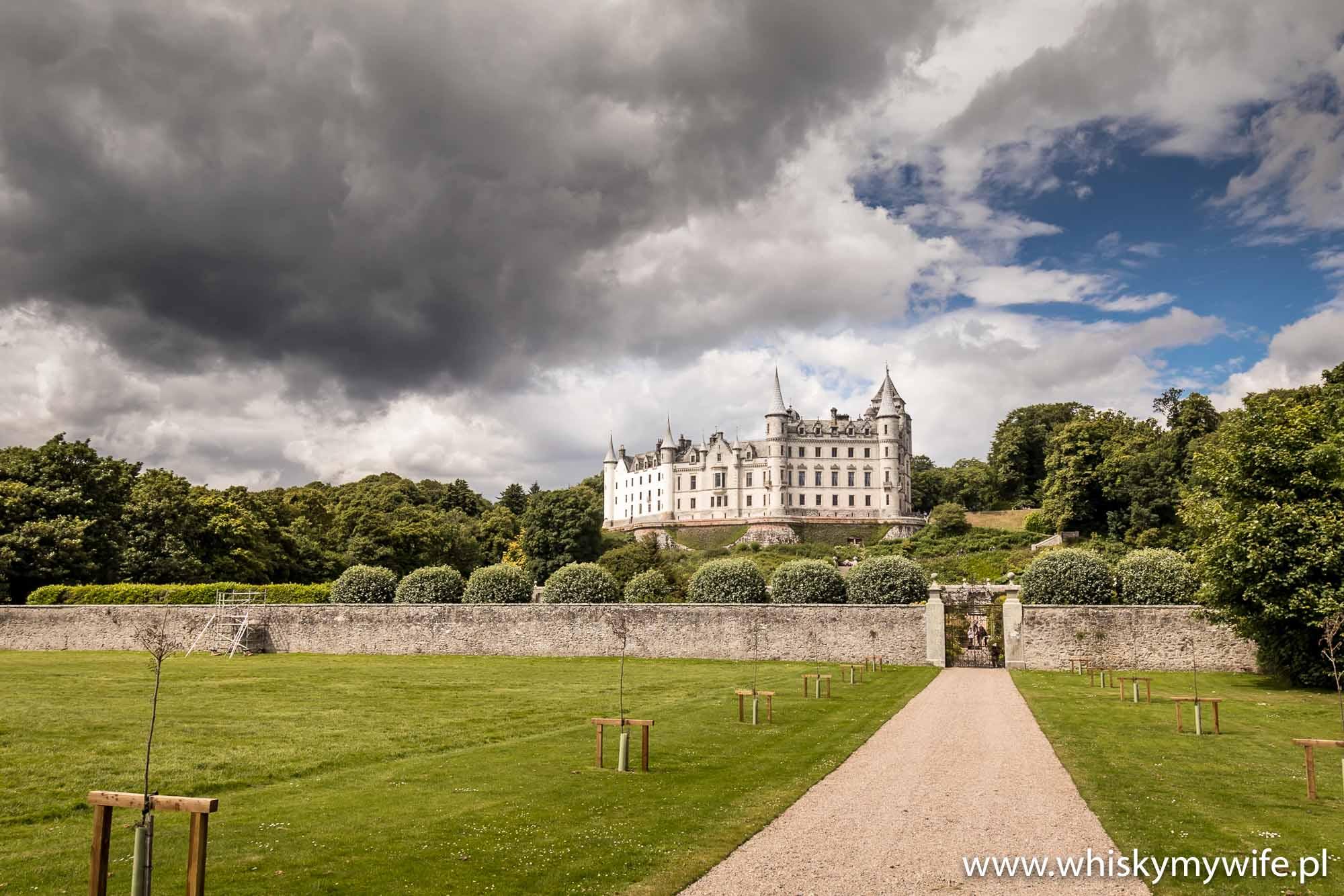 Bajeczny Dunrobin Castle.